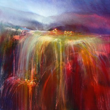 Abundance of artist Annette Schmucker as framed image