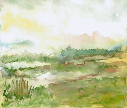 Fine Art Reproduction: Klara Weiß, Moorland