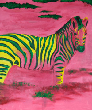 Fine Art Reproduction: Sabine May, Zebra