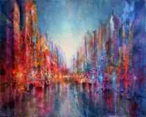 Annette Schmucker - City on the riverside