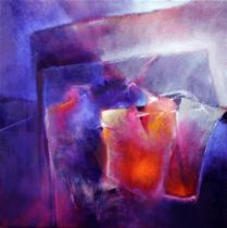 Annette Schmucker - Blue and orange