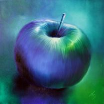 Annette Schmucker - Blue apple