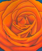 Birgitt Wolny - Rose Orange
