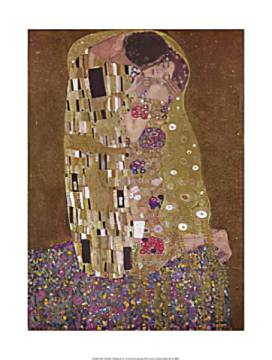 gustav klimt der kuss. Black Bedroom Furniture Sets. Home Design Ideas