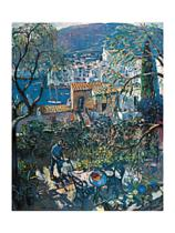 Ramon Moscardo - Cadaques - View From The Garden