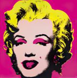 Marilyn Monroe, pink, 1967 of Andy Warhol