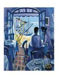Ramon Moscardo - Cadaques - Blue Sunset