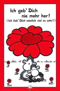 Sheepworld: Geb Dich nie mehr her!. Kunstdruck