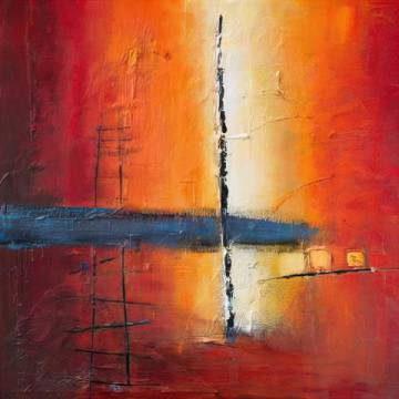 Fine Art Reproduction: Bea Danckaert, Sunbeam on Water