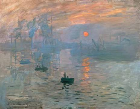 Monet Sonnenaufgang