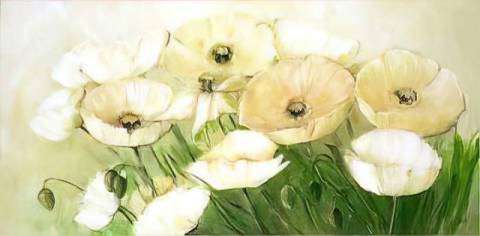 Kunstkarte: Elisabeth Krobs, Tender Poppies