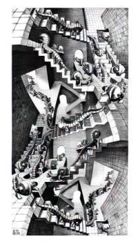 Escher Treppenhaus