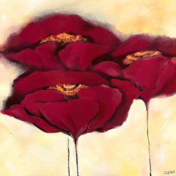 Fine Art Reproduction: Elena Filatov, Mohn in Milch I