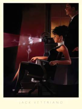 An Imperfect Past of artist Jack Vettriano as framed image