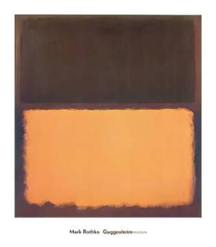 Untitled #18, 1963 of artist Mark Rothko as framed image