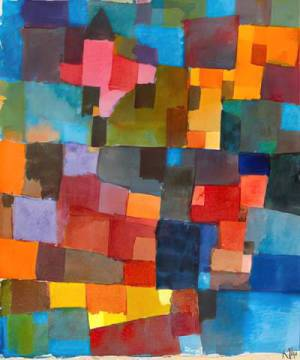 Fine Art Reproduction: Paul Klee, Raumarchitekturen