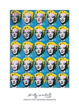 Andy Warhol - Twenty-Fife Colored Marilyns, 1962