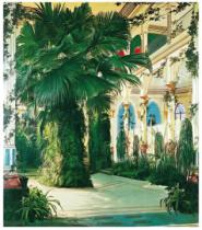 Karl Blechen - Interior of a Palm House