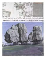 Christo und Jeanne-Claude - Wrapped Trees Nr.II (Riehen)