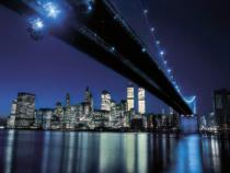 Henri Silberman - Brooklyn Bridge at Night