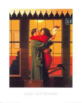 Jack Vettriano - Back Where You Belong