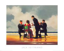 Jack Vettriano - Elegy for The Dead Admiral