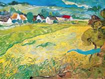 Vincent van Gogh - Sonnige Wiese bei Auvers