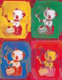 Andy Warhol - Four Pandas, 1983