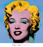 Shot - Blue Marilyn of Andy Warhol