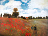 Claude Monet - Field of Wild Poppies, 1873