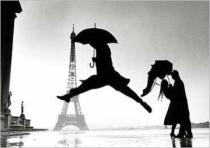 Elliott Erwitt - France, Paris, 1989, Eiffel tower 100th anniversary