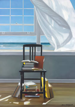 Kunstdruck: Karen Hollingsworth, Beach Scholar