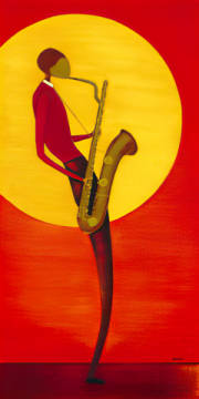 Fine Art Reproduction: Ona, Jazz Man I
