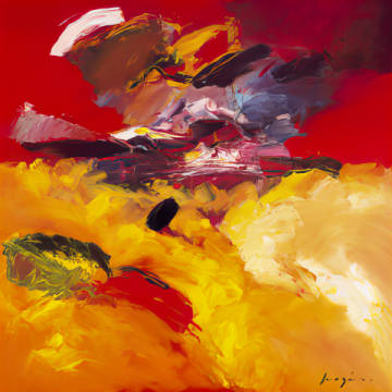 Art Card: Pascal Magis, Jaune - Rouge
