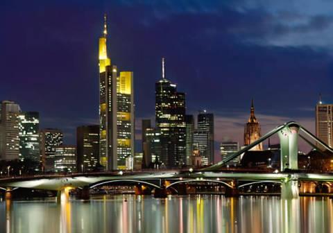 Rolf Frankfurt rolf fischer frankfurt skyline abend photo print