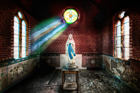 Kunstdruck: Matthias Haker, The private Chapel