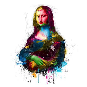 Fine Art Reproduction: Patrice Murciano, Da Vinci Pop