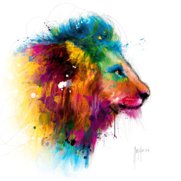 Art Print: Patrice Murciano, Jungle´s King