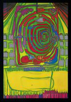 Friedensreich Hundertwasser - Green spiral at home