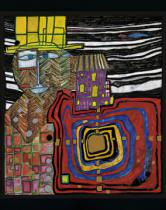 Friedensreich Hundertwasser - All ear