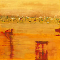 Rose Richter-Armgart - Orange Landscape