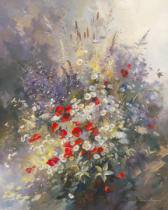 Paul Messely - Coquelicots