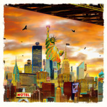 Yves KRIEF - Statue of Liberty
