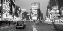 Philip Gendreau - Times Square illuminated by large neon A