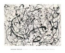 Jackson Pollock - Number 14: Gray