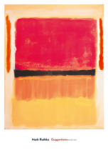 Mark Rothko - Untitled (Violet, Black, Orange, Yellow