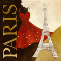 Albena Hristova - Paris Dress - A Day in the City