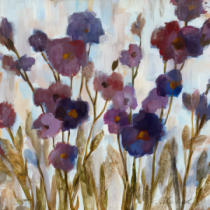 Silvia Vassileva - Abstracted Florals in Purple
