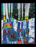 Friedensreich Hundertwasser - Blue Blues