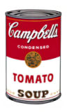 Campbell's Soup I:  Tomato, 1968 of Andy Warhol
